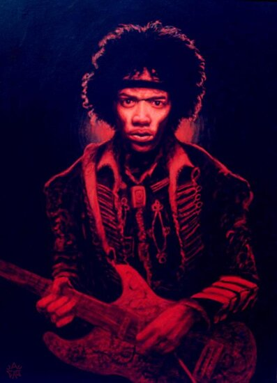 Crimson Hendrix by Cary McAulay