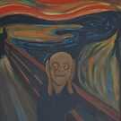 appropriation of  the scream by Naomi Duff