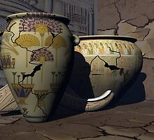 Ancient Egyptian Pottery 2 by plunder