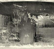 Distorted water fountain - Zurich by Peter Wells