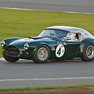 1963 AC Cobra MKII  by Willie Jackson
