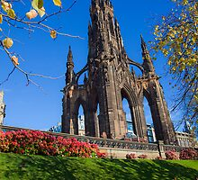Scot Monument - Edinburgh by John44