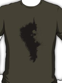 Transitory - Canvas Texture - Abstract Face T-Shirt