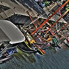 River Seine Boats by KChisnall