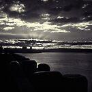 infrared sunset by dennis william gaylor