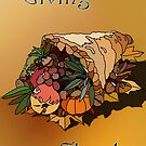 Cornucopia/Giving Thanks by Edith Arnold