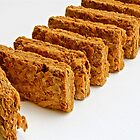 Breakfast cereal - wheat biscuit by Cheryl Sterkenburg