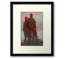 United We Conquer Framed Print