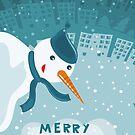merry xmas 3 by Anastasiia Kucherenko