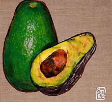Avocado by Sonia de Macedo-Stewart