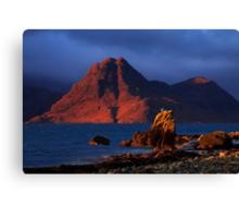 Elgol in November Light, Isle of Skye, Scotland Canvas Print