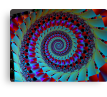 Turquoise Tentacle  (UF0011) Canvas Print
