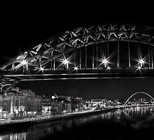 Tyne Bridge Panorama (mono) by Phil-Edwards