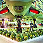 Vulcan and Bombs - R.A.F. Museum Hendon - HDR by Colin J Williams Photography