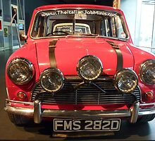 The Italian Job Mini Cooper by BlackhawkRogue