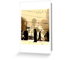 Where Are We Going? Greeting Card