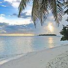 Sunset - Maldives by Aurora Vaz