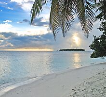 Sunset - Maldives by Aurora Vaz