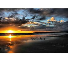 Sunset at Stinson Photographic Print