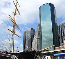 South Street Seaport - New York City by Frank Romeo