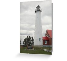 Lighthouse - Tawas Point, Michigan Greeting Card