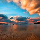Sunset Over Port Stephens by Centralian Images