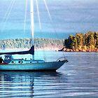 Sun Lit Mast #1 (photo) by James Zickmantel