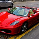 Ferrari drivers can park where they like by Tom Gomez