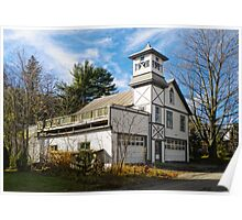Pine Hill Firehouse Poster