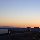 Kelbaker Road On-Ramp, Interstate 40, California by Chris Clarke