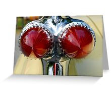 Fintasia Tailights Greeting Card