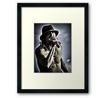 Kid Rock Framed Print