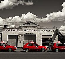 Three Red Cars by Heather Prince ( Hartkamp )