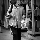 Street Seller in Hanoi by Anthony and Kelly Rae
