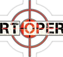 covert operator Sticker