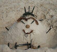 Aussie Style Sand Man by aussiebushstick