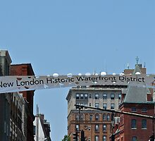 New London Historic Waterfront District  by Jack McCabe