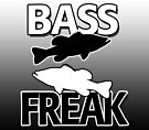 Bass Freak - Art/Calendar by Marcia Rubin