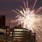 Fireworks over London by Dean Messenger