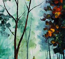 CLEAN THOUGHTS - Original Art Oil Painting By Leonid Afremov by Leonid  Afremov