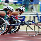 The Wheelchair Racers by Adrian Paul