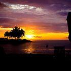 Sunset at Kota Kinabalu by deolandicho