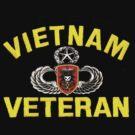MacV Sog Vietnam Veteran by Walter Colvin