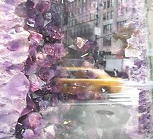 New York amethyst haze by Nella Khanis