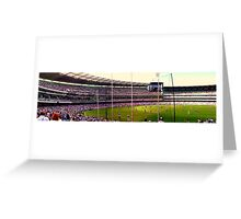 The Mighty MCG Greeting Card