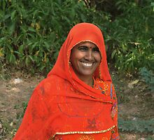 woman of Rajasthan by Catherine Ames
