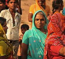Portrait of women of Rajasthan by Catherine Ames