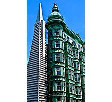 San Francisco Architectural Contrast Photographic Print