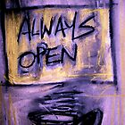 always open by Mark Stanley