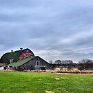 Barn on Route 14 by James Watkins